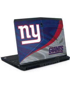 New York Giants Dell Alienware Skin