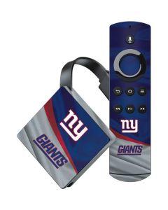 New York Giants Amazon Fire TV Skin