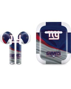 New York Giants Apple AirPods 2 Skin