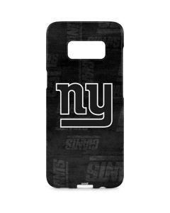 New York Giants Black & White Galaxy S8 Plus Lite Case