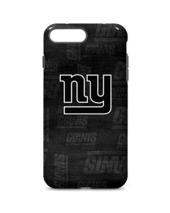 New York Giants Black & White iPhone 8 Plus Pro Case