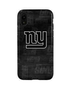 New York Giants Black & White iPhone XR Pro Case