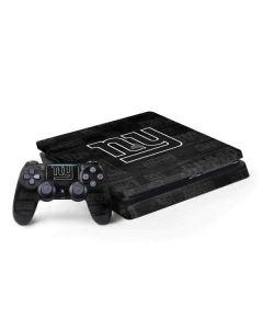 New York Giants Black & White PS4 Slim Bundle Skin