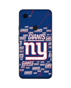 New York Giants Blast Google Pixel 3a Skin
