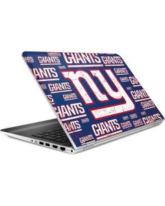 New York Giants Blast HP Pavilion Skin