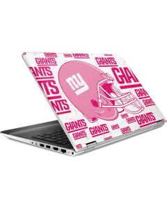 New York Giants- Blast Pink HP Pavilion Skin