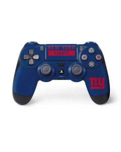 New York Giants Blue Performance Series PS4 Controller Skin