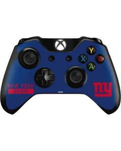 New York Giants Blue Performance Series Xbox One Controller Skin