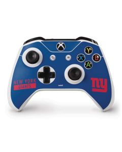 New York Giants Blue Performance Series Xbox One S Controller Skin