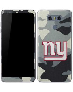 New York Giants Camo LG G6 Skin