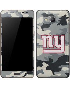 New York Giants Camo Galaxy Grand Prime Skin