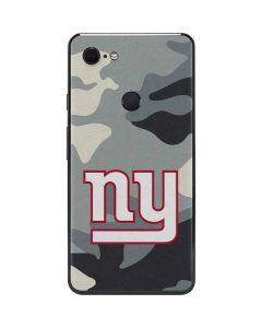 New York Giants Camo Google Pixel 3 XL Skin