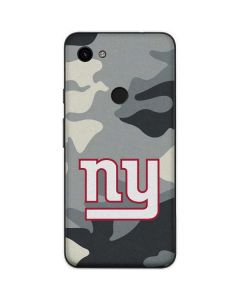 New York Giants Camo Google Pixel 3a Skin