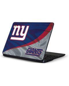New York Giants Samsung Chromebook Skin