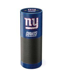 New York Giants Distressed Amazon Echo Skin