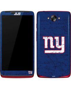 New York Giants Distressed Motorola Droid Skin