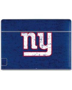 New York Giants Distressed Galaxy Book Keyboard Folio 10.6in Skin