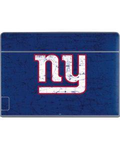 New York Giants Distressed Galaxy Book Keyboard Folio 12in Skin