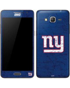 New York Giants Distressed Galaxy Grand Prime Skin