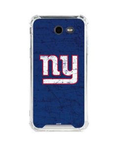 New York Giants Distressed Galaxy J3 (2017) Clear Case