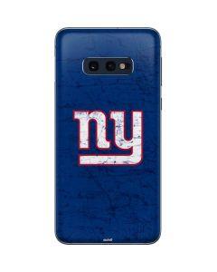 New York Giants Distressed Galaxy S10e Skin
