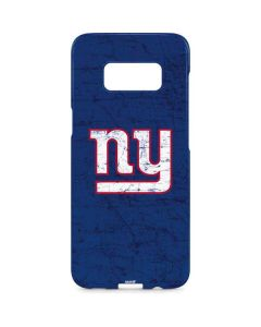 New York Giants Distressed Galaxy S8 Plus Lite Case