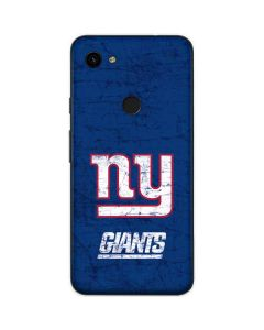 New York Giants Distressed Google Pixel 3a Skin