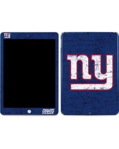 New York Giants Distressed Apple iPad Skin
