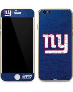 New York Giants Distressed iPhone 6/6s Skin