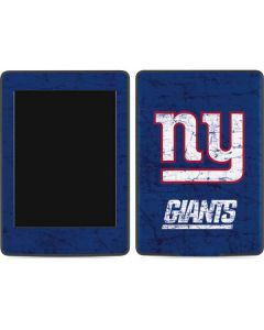 New York Giants Distressed Amazon Kindle Skin
