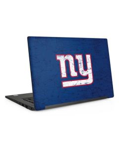 New York Giants Distressed Dell Latitude Skin