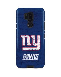 New York Giants Distressed LG G7 ThinQ Pro Case