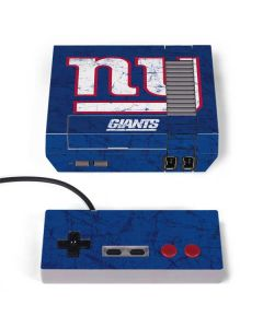 New York Giants Distressed NES Classic Edition Skin