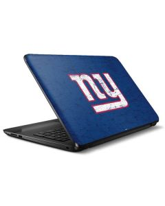 New York Giants Distressed HP Notebook Skin