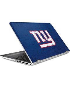 New York Giants Distressed HP Pavilion Skin