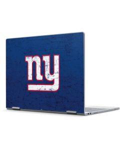New York Giants Distressed Pixelbook Skin