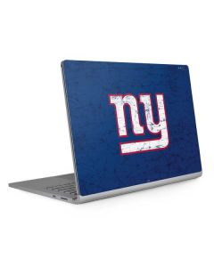 New York Giants Distressed Surface Book 2 15in Skin
