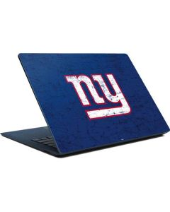 New York Giants Distressed Surface Laptop Skin