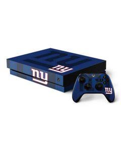 New York Giants Double Vision Xbox One X Bundle Skin