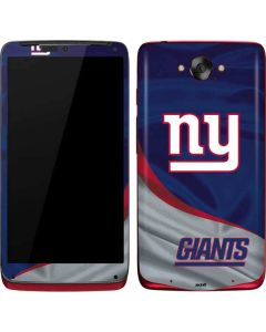 New York Giants Motorola Droid Skin