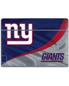 New York Giants Galaxy Book Keyboard Folio 10.6in Skin