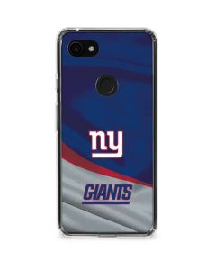 New York Giants Google Pixel 3a XL Clear Case