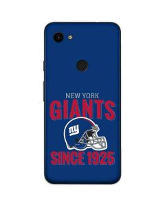 New York Giants Helmet Google Pixel 3a Skin