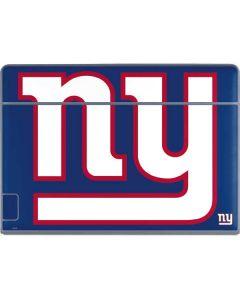 New York Giants Large Logo Galaxy Book Keyboard Folio 12in Skin
