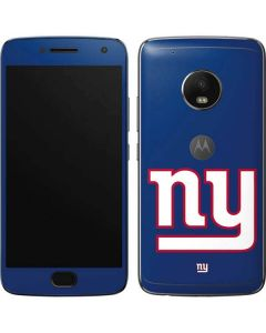 New York Giants Large Logo Moto G5 Plus Skin