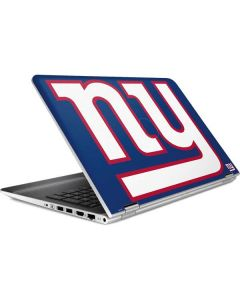 New York Giants Large Logo HP Pavilion Skin