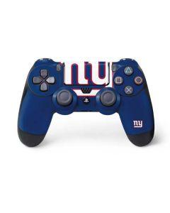 New York Giants Large Logo PS4 Controller Skin