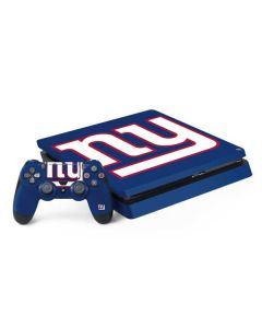 New York Giants Large Logo PS4 Slim Bundle Skin