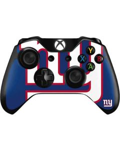 New York Giants Large Logo Xbox One Controller Skin