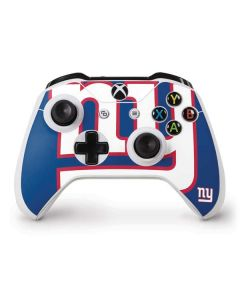 New York Giants Large Logo Xbox One S Controller Skin
